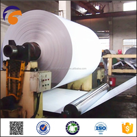 a4 paper from china copy white coated paper duplex board manufacturer in indonesia with grey back