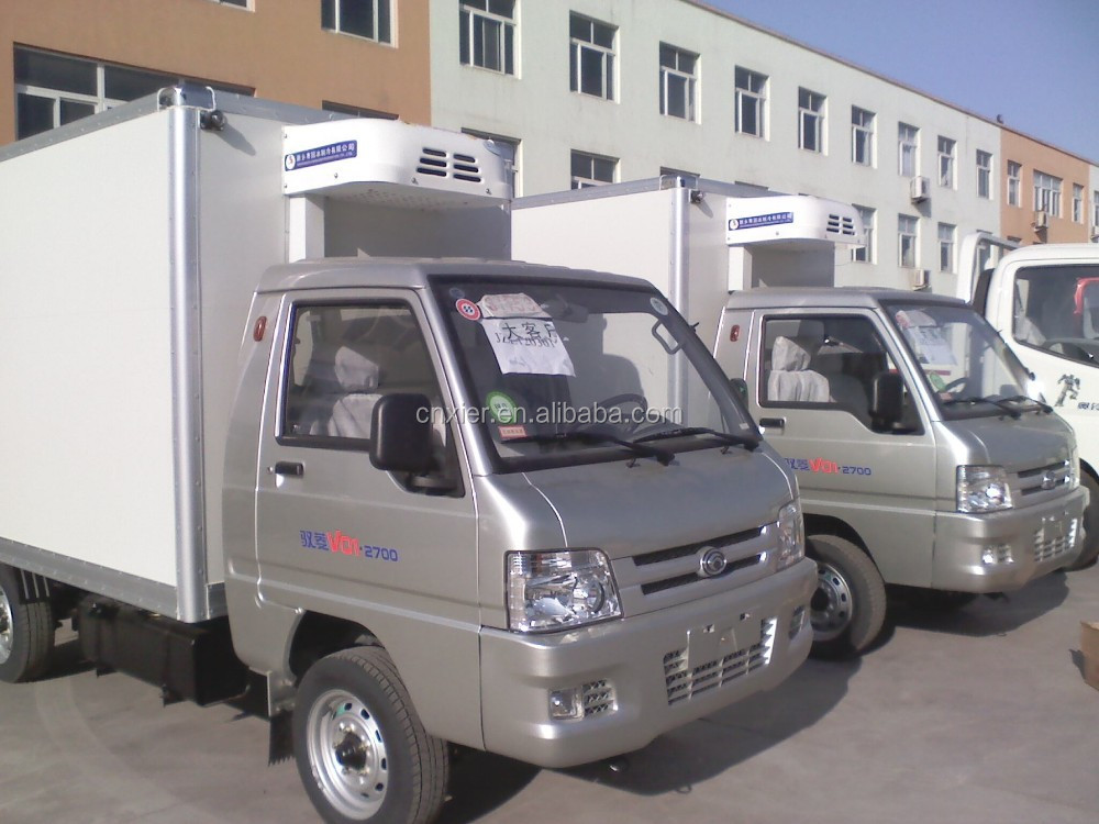 Refrigerated Truck for transport fruit and vegetable, reefer box van truck,, JAC cargo box,dry cargo box van
