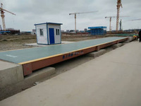 Digital weighing bridge truck scale shipping in container