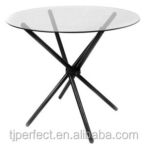 Latest design luxury granite top 48 inch round dining table