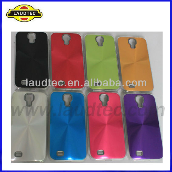 Laudtec New Fashion Top Quality Best Price Aluminum Hard Mobile Phone Case Cover for Samsung Galaxy S4 i9500