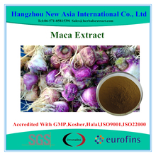 Pure Maca Extract Powder Total Macaene 0.2% HPLC