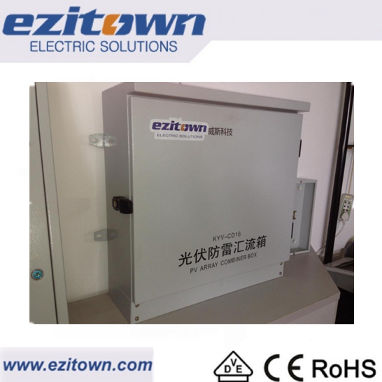 Hot sale china's pv array combiner box for DC circuit solar controller