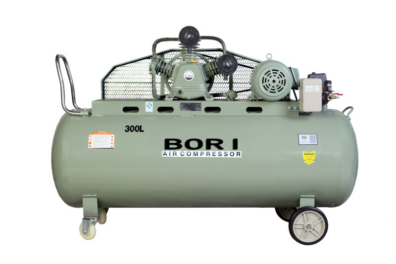 Good quality gasoline and electric motor air compressor 300L