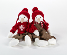 Christmas Snowman Gift Soft Plush Toy Wholesale