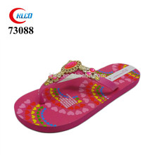 Cheap Most popular OEM design zorries sweet flip flops rhinestones