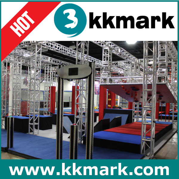 fitness park train Junior NINJAS obstacle course/Fitness park build by Aluminum Truss