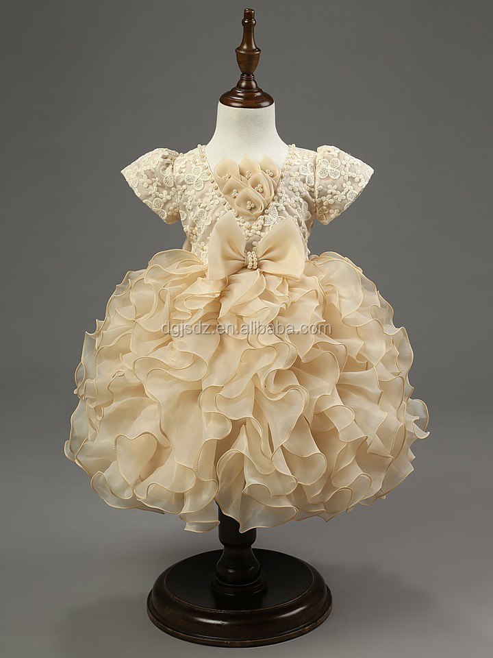 little girl tutu fairy princess dresses for girls children's rainbow colored wedding dress