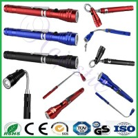 Ningbo Vlux 3XLED Flexible Magnetic Pick Up LED Telescopic Flashlight