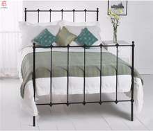cheap chinese french style stainless steel single metal luxury bed frame