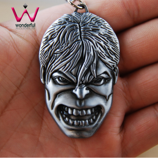 The Hulk Key Pendant Zinc Alloy Key Charms Pewter Charms Factory Wholesale In Yiwu