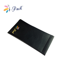 wholesale custom leather pouch with logo