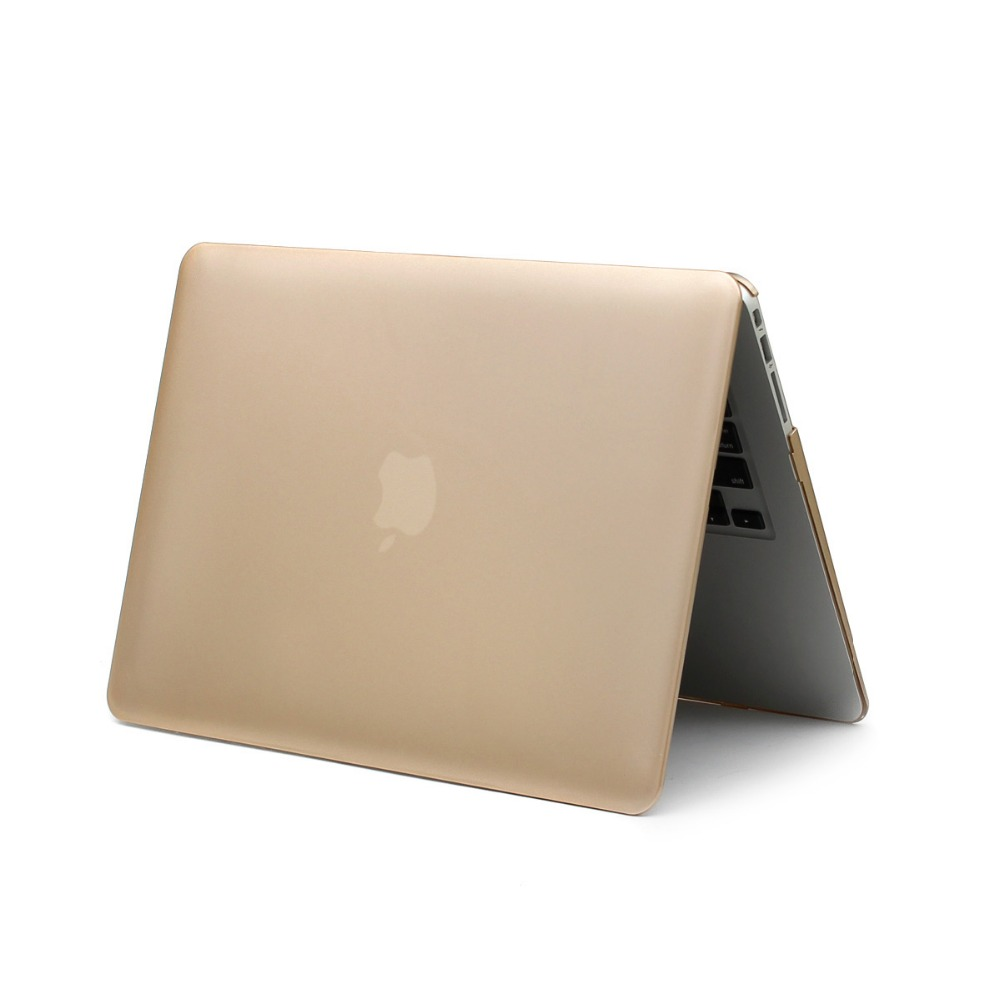 best quality blank gold rose gold pink laptop shell case for mac book air 13