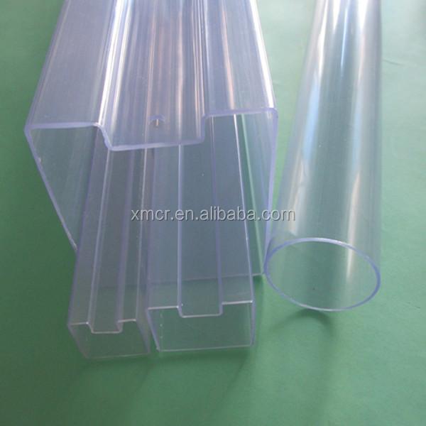 Tuber a de pvc r gido transparente tubos de pl stico - Tubo plastico rigido ...
