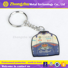 Custom Cartoon Key Tags/Cartoon metal Key ring made in china