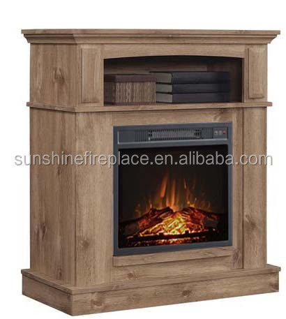 CSA Certified Realistic Flame Electric Media Fireplace Insert
