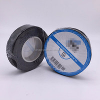 Black color Fabric cotton electrical insulation tape