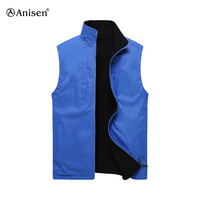 China wholesale double sided models of vest for men work clothes vest