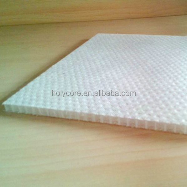 light weight PP honeycomb core panel for touch other materials