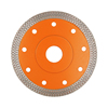 Hot Press Sintered Turbo-mesh Blade Reinforced Body Diamond Saw Cut Blades for Tile Porcelain Glass Granite Marble Cutting