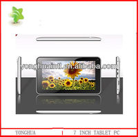 7 inch screen rockchip RK2928 1.2G android 4.1 tablet pc