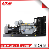 Low speed diesel generator , generator electric start kit