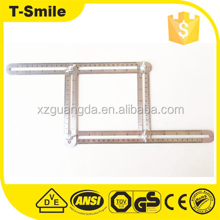 Angle-Izer Measuring Template Tool Measures All Forms And Angles,