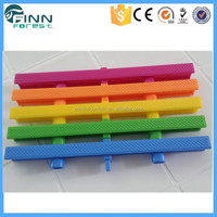 High class wiath size plastic pvc swimming pool overflow grating
