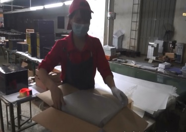 Packaging into carton