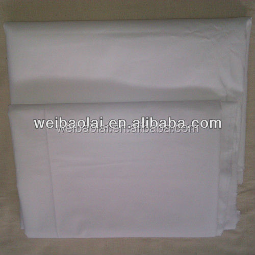bedspread/fabric for making bed sheets/white cotton fabric
