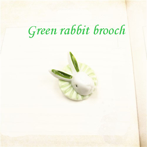 porcelain animal cc hand-made magnet brooch wholesale dress wedding with brooch accessories