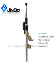 JBA-5398 key-lock Radio Telescopic Car Antenna With 4 sections