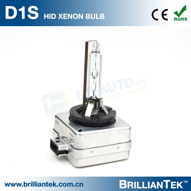 Brilliantek 18 Months Warranty AC DC d1s d1c d1r 6000K 8000K HID Xenon Bulb for HID Kit Headlight