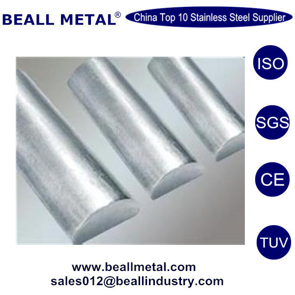 Wholesale competitive price Inconel 718 alloy steel half round bar
