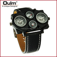 2015 oulm elegant military watch, hot military sport watch, alibaba new watch wholesale