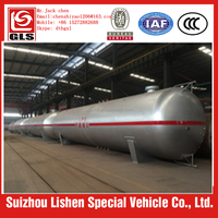 2016 hot selling high quality 100m3 propane lpg gas tank
