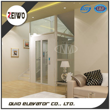 Residential small elevator passenger lift for 2 person