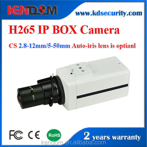 H.264/H.265 5.0MP IP Box camera Auto IRIS Audio Sony IMX178 Hi3516D ONVIF 2.4 Network CCTV security for Bank Special Camera
