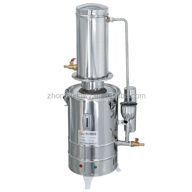 Automatic commercial water distiller for pharmaceutical
