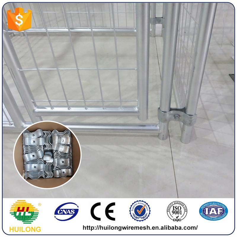 Alibaba galvanized comfortable heated dog kennel with high quality