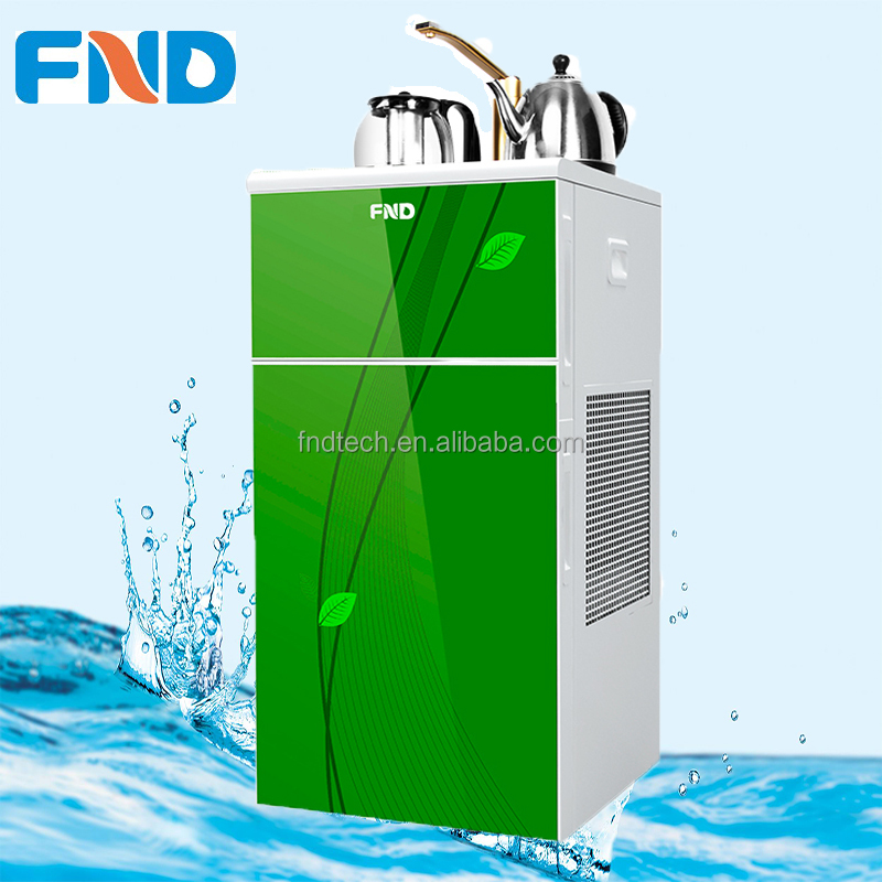 sparkling water dispenser with Ro purifier tea bar