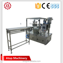 China manufacturer aseptic plastic pouch filling machine manufactured in