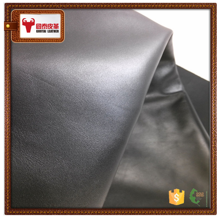 Cow split nappa genuine leather square foot