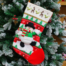 Factory Newest Design Luxury wholesale Christmas Stocking