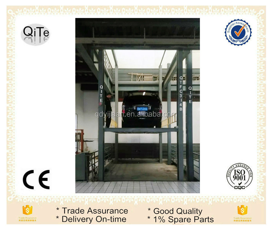 hydraulic mechanism car table lift