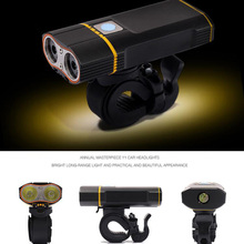 800 Lumen 2500mAh 5Modes Bike Light Safety Road Mountain Flashlight Waterproof Rechargeable Led USB Bike Front Light