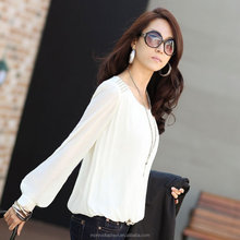 monroo Vetement Femme Womens Tops Chiffon White Blouse Vintage Women Shirts Loose Plus Size Woman Clothes Camisas Muje 4XL