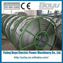 High strength anti twist tension wire rope
