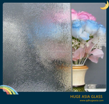 3-8mm Patterned Decorative Glass with CE&ISO