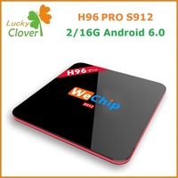 Newest Design Products Android tv box H96 PRO Amlogic S912 64bit Octa-core android 6.0 Marshmallow 4k smart tv box